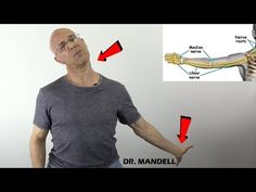 I like to share a wonderful stretching technique to reduce nerve compression along the pathways from the neck to the fingers. This is very effective in carpa. Carpal Tunnel Exercises, Neck Exercises, Body Stretches, Cervical Radiculopathy Exercises, Pinched Nerve In Neck, Trapped Nerve, Neck And Shoulder Exercises, Cervical Pain, Nerve Pain