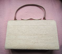 Town & Country Straw Pocketbook by heydarlin on Etsy, $22.00