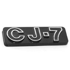 MOPAR Jeep CJ-7 Emblem, (Stick-On) - DMC-5457017