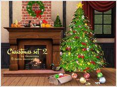 christmas set 2 by severinka-décors de tables