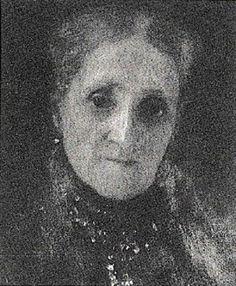 Portrait of Anna Klimt (Mother) 1897 Lost in WW II