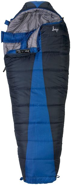 Slumberjack Latitude -20 Degree Synthetic Sleeping Bag -- For more information, visit now : Camping gear