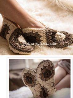 Cosy Hexagon Slippers