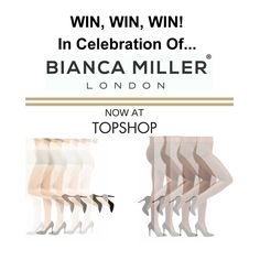 Win a pair of Bianca Miller hold ups.  COMPETITION TIME... COMPETITION TIME... To celebrate the amazing news that Bianca Miller...http://tights.fun/win-a-pair-of-bianca-miller-hold-ups/