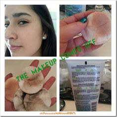 #GarnierSensitive Makeup Remover Lotion Cleanser Product Review @DownshiftingPRO