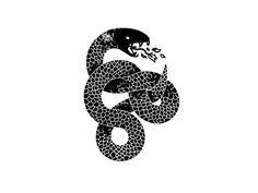 Brent 39 s tattoo inspiration on pinterest snake tattoo la for Black mamba tattoo