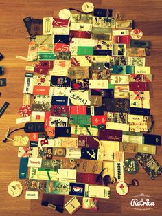 Etiket koleksiyonum/ My label collection