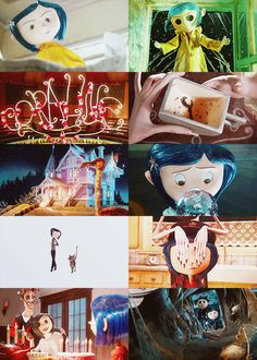 #6: my pinner's choice is my all time favourite movie, Coraline. I love it so much, I've seen it so much I can quote it and I want to get a tattoo of a quote from it on my shoulder. I read the book, too, and I love it. I loved the creepy aspect but how it's still a kid's book. I loved the colours and the weird storyline. I'm a huge fan of directors like Tim Burton so when I see movies with the creepy feel that Tim Burton gives I immediately am a fan. The movie was not directed by Tim Burton…