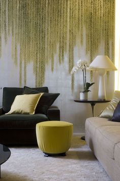 de Gournay: Weeping Willow. Our Collections - Wallpapers & Fabrics Collection - Japanese & Korean Collection  
