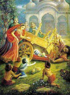 Shatkasur killed by Shri Krishna