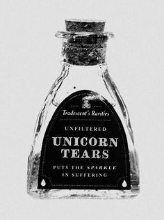 Unicorn Tears: Putting the Sparkle in Suffering ~ Sometimes a few tears have to be shed for our dreams to come true...