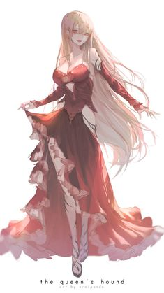 Kai Fine Art is an art website, shows painting and illustration works all over the world. Manga Anime Girl, Cool Anime Girl, Pretty Anime Girl, Anime Oc, Beautiful Anime Girl, Dark Anime, Kawaii Anime Girl, Anime Girls, Anime Girl Dress