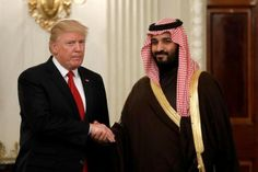 Trump meets with Saudi deputy crown prince at the White House...