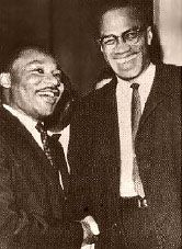 A comparison of martin luther king and malcolm x two african american icons