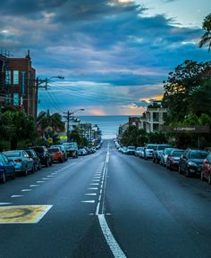 A Beautiful morning looking down Coogee Bay Road, Sydney #coogee #morning #Coogee & Co.