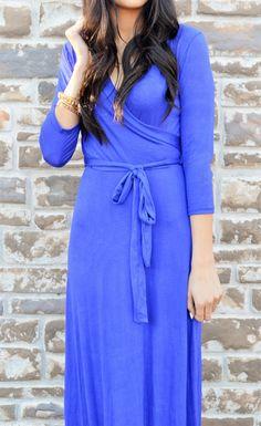 Spring Fling Maxi Dress-4 Colors