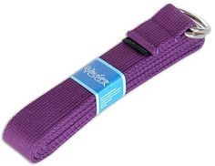 Zulily | Purple 6' Yoga Strap. Achieve deeper stretches and keep your arms or legs stable when holding a pose with this convenient yoga strap#afflink#yoga#fitness#exercise