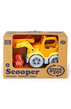 Green Toys 'Scooper' Toy Construction Truck