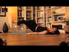 Legs   Butt Workout with Pilates Stability Ball 2dce0ee55636