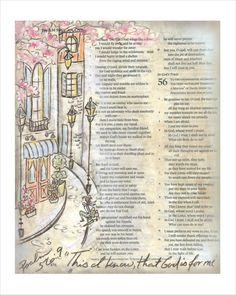 Bible Journaling Art Print God is For Me by ruthonesixteen on Etsy
