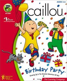 caliou birthday party | Caillou - Birthday Party - Caillou Wiki