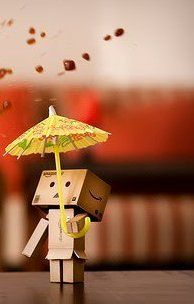 Danbo with umbrella
