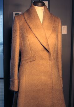 Made by Hand- the great Sartorial Debate: Sleeves on an overcoat