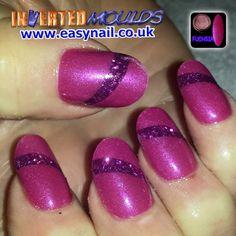 Fuchsia Pink acrylic IMs by Cheryl Hammond:  Instagram photo by invertednailsystems - http://instagram.com/p/2Dcyo5BGPW/  IMs from www.easynail.co.uk   Acrylic powders from www.thenailartist.co.uk   #Invertedmoulds #enuk #ims #nails #nailart #acrylicnails #nailporn #nailgasm #nailstagram #nailartdesign #notd #nailswag #nailsofinstagram #nails2inspire #nailsart #nailartaddict #nailartoohlala #nailartwow #nailartjunkie #nailartheaven #nailartaddicts #nailartist