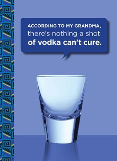 vodka. please.