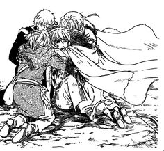 Akatsuki No Yona - Group Hug again!