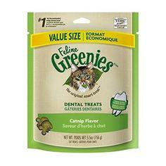 GREENIES Feline Dental Treat Catnip Flavor - 5.5 Oz, Pack of 6 >>> Click image for more details.