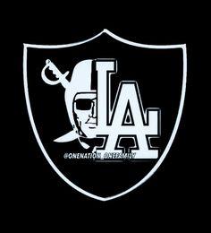 Raiders Cowboys, Raiders Girl, Oakland Raiders Football, Football Memes, Sports Memes, Sports Logos, Raiders Tattoos, Chicano Style Tattoo, Let's Go Dodgers