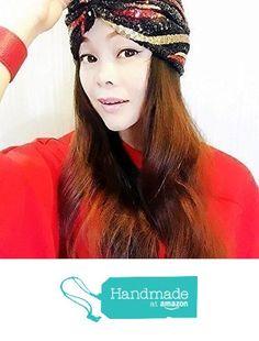 Red Black Gold Sequin Turban,Women Turban,Full Turban,Turban Headband,Turban Hat,Stretch Turban,Fashion Turban,Head Wrap,Head Scarf,Headband,Hipster, Fashion, Gift, Show, Party, Holiday from ENOCHER https://www.amazon.com/dp/B01FMN2CLY/ref=hnd_sw_r_pi_awdo_EBjHybTZX59AA #handmadeatamazon
