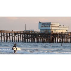 Piers of California At Sea Without a Sail ❤ liked on Polyvore featuring home and home decor