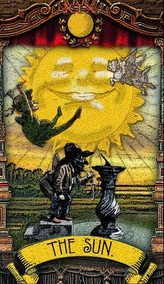 The Tarot of Mister Punch: The Sun - If you love Tarot, visit me at…