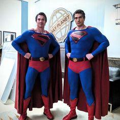 Dc Comics Film, Dc Comics Heroes, Comic Book Superheroes, Dc Comics Characters, Superhero Movies, Superman News, Superman Family, Batman And Superman, Superman Photos