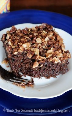 Healthy Chocolate Coffee Cake with Streusel Recipe