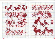 ru / Фото - Annick_ - Los-ku-tik lots of beautiful motives Just Cross Stitch, Cross Stitch Borders, Cross Stitch Samplers, Cross Stitch Animals, Cross Stitch Charts, Cross Stitch Designs, Cross Stitching, Cross Stitch Embroidery, Embroidery Patterns