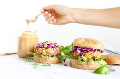Healthy Grocery Girl | THE BEST QUINOA CHICKPEA BURGERS!