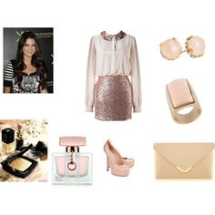 party:) by misshollywood94 on Polyvore featuring Yves Saint Laurent, ASOS, ALDO, Gucci and Chanel