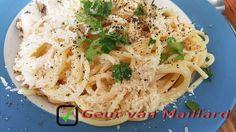 Spaghetti met citroen en room - Geur van Maillard - www.maillard.nl