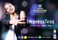 """Can you #ImpressTess? Wenn du es schaffst, Tess mit einem Talent und coolem Auftritt von dir zu beeindrucken, kannst du VIP-Packeges mit Anreise und Übernachtung zu einer der """"Cool Nights"""" von Wodka Gorbatschow und musikexpress gewinnen! Die ersten Gewinner haben die Latte hoch gelegt... [sponsored]"""