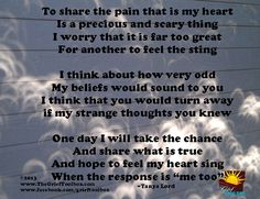Me too A Poem | The Grief Toolbox
