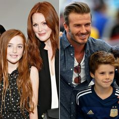 These celebrity kids look just like their famous parents.