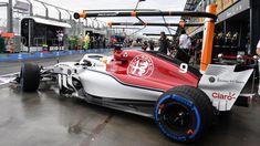 Marcus Ericsson in Alfa Romeo Sauber C37 qualifying at Australian Grand Prix, Melbourne - Saturday 24 March 2018