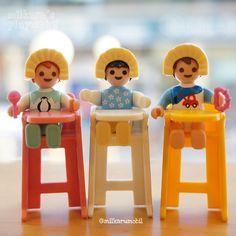 귀요미 아기들♡ Lovely babies♡ #플레이모빌 #플모 #세쌍둥이 #삼둥이 #playmobil #triplets #toys #figures #摩比 #三胞胎