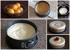 """Rich, creamy Pressure Cooker Meyer lemon cheesecake """"baked"""" in a pressure cooker in just 15 minutes. Top with tart lemon curd for the best dessert recipe! Pressure Cooking Today, Pressure Cooking Recipes, Best Pressure Cooker, Instant Pot Pressure Cooker, Best Dessert Recipes, Fun Desserts, Cooker Cheesecake, Lemon Cheesecake Recipes, Lemon Curd"""