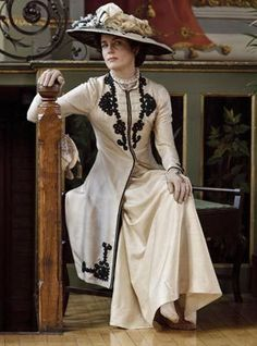 Downton Abbey - I admit the hats are part of the reason I like the show!