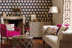sposoby dekorowania ścian tapetami (5)