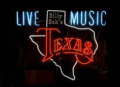 Neon Sign, Billy Bob'S, Fort Worth